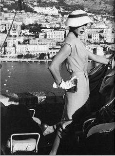 Bettina Graziani by Henry Clarke, 1954