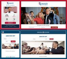 Mobile vs. Responsive Mitt Romney and Barack Obama websites