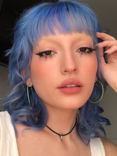 Mullet Haircut, Mullet Hairstyle, Updo Hairstyle, Hairstyles With Bangs, Pretty Hairstyles, Wedding Hairstyles, Edgy Haircuts, Quinceanera Hairstyles, Shag Hairstyles