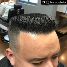 "162 Me gusta, 1 comentarios - 💈 Flattop Haircut 💈 (@flattophaircut) en Instagram: ""#FlattopFriday 🇧🇷 Repost @brunabarbeira ・・・ Flattop #barbeiras #barberlife #barbeirasdobrasil…"""
