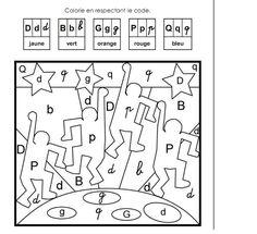 coloriage magique soustraction à colorier dessin à imprimer