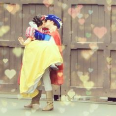 Too cute!!! Snow and her Prince Found on web.stagram.com via Tumblr