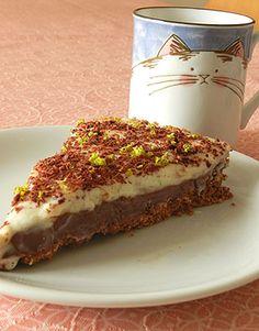 Torta de limão e chocolate - receita da Tofu - Adoro torta de limão :)