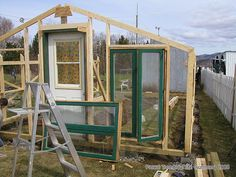 Tutorial on framing a greenhouse