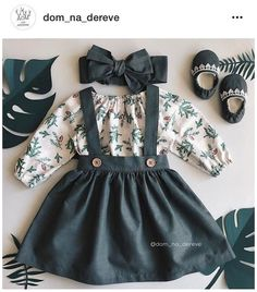 Trendy Baby Clothes, Cute Baby Girl Outfits, Dresses Kids Girl, Baby Kids Clothes, Newborn Baby Girl Outfits, Newborn Baby Clothes, Fall Toddler Outfits, Gucci Baby Clothes, Cute Baby Dresses
