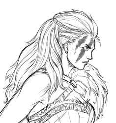 Astrid new look sketch by iara-art on DeviantArt