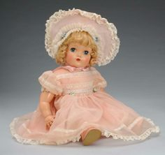 "~ Madame Alexander Hard Plastic ""Little Genius"" Doll ~ (1950)"