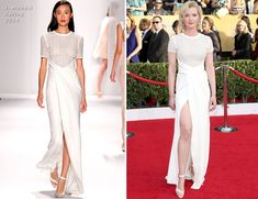 Gretchen Mol In J.Mendel – 2014 SAG Awards
