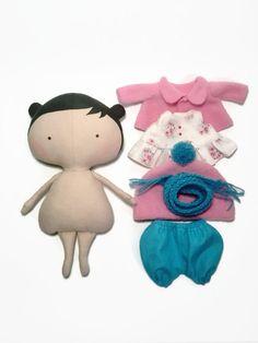 Ropa de muñeca-muñeca de trapo-para niños-regalos-Tilda muñeca novia-niños muñecas regalo regalo personalizado rosa-muñeca-tela muñeca-muñecas de niñas y figuras de acción