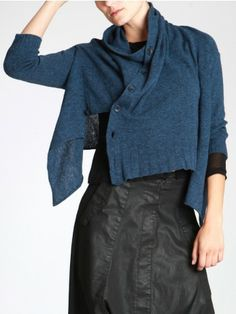 FINE WOOL KNITTED CARDIGAN - JACKETS, JUMPSUITS, DRESSES, TROUSERS, SKIRTS, JERSEY, KNITWEAR, ACCESORIES - Woman -