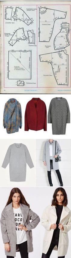 Круглое пальто выкройка / Простые выкройки / ВТОРАЯ УЛИЦА