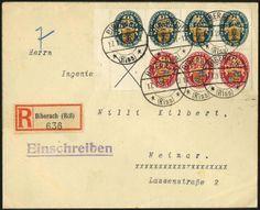 Nothilfe 1928 (MH 27), Heftchenblatt mit Rand und sehr guter Zähnung, als Einzelfrankatur auf R-Brief 'BIBERACH (RISS) 17.1.29' nach Weimar,...