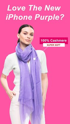 🐑 100% cashmere ⇢ breathable 🧣 Featherlight design ⇢ easy to style ☀️ Finest cashmere fiber ⇢ mind-blowing softness 👉 Handy design ⇢ best everyday scarf ❤️ Free shipping & returns ⇢ 100% satisfaction Lightweight Scarf, Clothing Hacks, Cashmere Scarf, New Iphone, Scarf Styles, Fiber, Weaving, Organization, Free Shipping