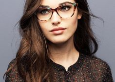 5 Eyewear Trends We're Excited to Try Now via @PureWow A SUBTLE CAT EYE