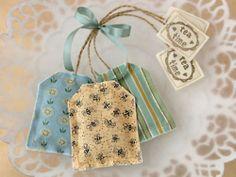 sachet, pincushion, bookmark, embellishment