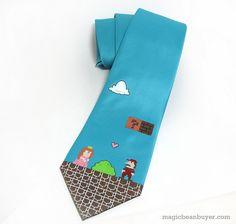 Mario Tie by magicbeanbuyer, via Flickr