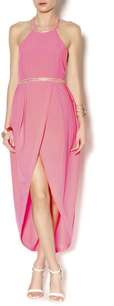 luxxel Neon Pink Resort Dress