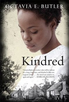 Kindred by Octavia E. Butler - Dana, a modern black woman, is celebrating her twenty-sixth birthday with her new husband when she is snatched abruptly from her home in California and transported to the antebellum South. Rufus, the white son of a plantation owner, is drowning, and Dana has been summoned to save him. Dana is drawn back repeatedly through time to the slave quarters, and each time the stay grows longer, more arduous, and more dangerous.