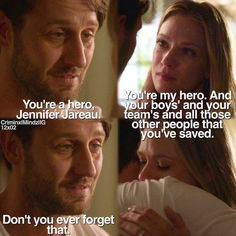 Will and Jj Criminal Minds .this episode! Criminal Minds Funny, Criminal Minds Cast, Spencer Reid, Tv Quotes, Movie Quotes, Behavioral Analysis Unit, Jennifer Jareau, Crimal Minds, Matthew Gray Gubler