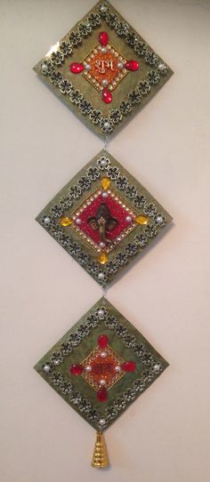 Home art diy mobiles trendy Ideas Thali Decoration Ideas, Diy Diwali Decorations, Festival Decorations, Home Crafts, Diy And Crafts, Arts And Crafts, Cd Crafts, Shell Crafts, Diwali Craft