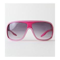 Kirra Sunglasses - Womens - Lightning Pink Sunglasses ($16) ❤ liked on Polyvore featuring accessories, eyewear, sunglasses, glasses, óculos, pacsun, girls, uv protection sunglasses, kirra and lens glasses