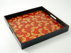 "Decorative Ottoman Tray Adorable Orange Tray"" ""orange Trays"" Trays Tray Decor Serving Tray Review"