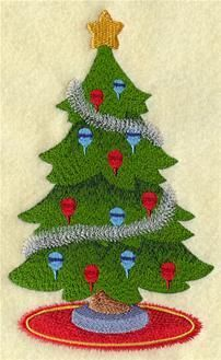 Machine Embroidery Designs at Embroidery Library! Machine Embroidery Applique, Hand Embroidery, Embroidery Ideas, Christmas Tree Embroidery Design, Christmas Drawing, Christmas Crafts, Sewing, Color Change, Needlepoint