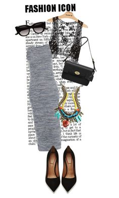 """""""Miss u all ?"""" by girlyskullsam ❤ liked on Polyvore featuring Daytrip, Topshop, Givenchy, Mulberry, Witchery and DANNIJO"""
