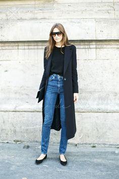 See Giorgia Tordini's Chic Take On A Classic Combo | Le Fashion | Bloglovin'