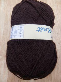 100g Robin DK knitting yarn 51 Brown knitting wool £1.39