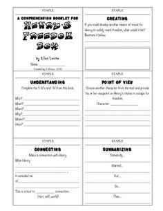 This booklet is designed as an activity to complete during reading (either aloud by teacher, in a small group, or at a literacy center).  While reading, students will review a vast amount of reading skills that include problem/solution, five finger retell, making connections, summarizing, and more!
