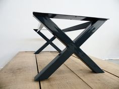 16H x 16 W-Apart 42 X-Frame Table Base for Dining Tables .Especially for heavy tops ,marble tops or wood tops ,the base convert the design unique piece.