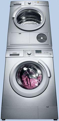 A #Siemens tumble #dryer and  Siemens #washing machine are the perfect duo for your #laundry. // Siemens #Trockner und Siemens #Waschmaschine bilden das perfekte Duo für Ihre #Wäsche. #enjoysiemens