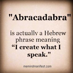 What a great way to put yourself right onto the right track - exclaim: Abracadabra! Unusual Words, Rare Words, New Words, Cool Words, General Knowledge Facts, Knowledge Quotes, True Quotes, Words Quotes, Sayings