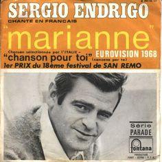 Sergio Endrigo - Italy - Place 10 (french version)