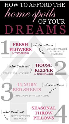How to Afford the Home Spoils of Your Dreams - Kelley Nan