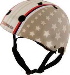 Junior Helmet: Kiddimoto Stars and Stripes Kids