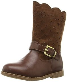 Rampage Girls Lil Sally Bootie Chestnut 6 M US Toddler * ** AMAZON BEST BUY **  #MountaineeringBoots