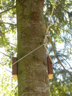 How to build your own backyard zipline - Big!