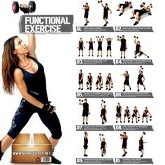 Dumbbell Exercises For Women And Men - Functional Healthy Ab Leg - FITNESS HASHTAG