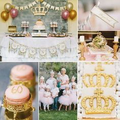 Honored to be a part of this beautiful party styled by - We made the gold glitter crown and vinyl crown decals. Check out the complete feature on 60th Birthday Celebration Ideas, 60th Birthday Quotes, 60th Birthday Party Decorations, 60th Birthday Gifts, Birthday Invitations Kids, Diy Party Decorations, Mom Birthday, Birthday Parties, Surprise Birthday