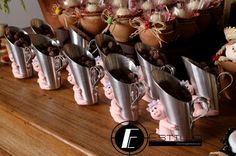 1 Knife Block, Creative Decor, Table Scapes, Ideas Party, Kids Part, Tin Cans