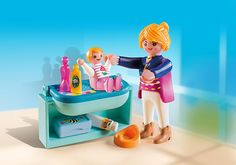 Mother and Child with Changing Table - 5368 - PLAYMOBIL® USA