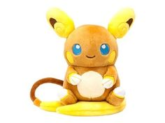 """Item: Pokemon Center Original Plush Doll Pokemon Dolls Alola Raichu. New dolls are coming out in the """"Pokemon Dolls Series"""". Manufacturer: Pokemon Center Original. Remark: Size is approx. This item is a Pre-Order item and will be released on.   eBay!"""