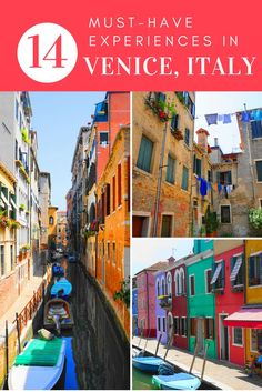 Discover the best tourist attractions in Venice, Italy! Catch the main sights and then get off the beaten path with this guide to Venice! - Europe travel guide - top things to do in Europe Italy Travel Tips, Europe Travel Guide, Travel Guides, Budget Travel, Europe Destinations, Honeymoon Destinations, Holiday Destinations, Backpacking Europe, Cinque Terre