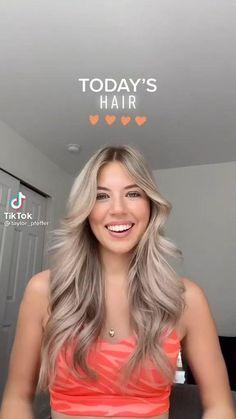 Curly Hair Tips, Curly Hair Styles, Aesthetic Hair, Hair Videos, Pretty Hairstyles, Hair Looks, Hair Type, Hair Inspiration, Beauty Hacks