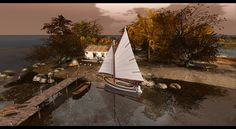 """Check outthe Second Life Pic of the Day,""""Islands"""", photo byKatya Valeska."""