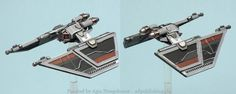 Agis Page of miniature painting and gaming - X-Wing