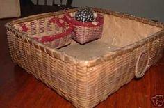 I'm loving the little notions baskets inside.
