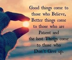 Dont Give up!!